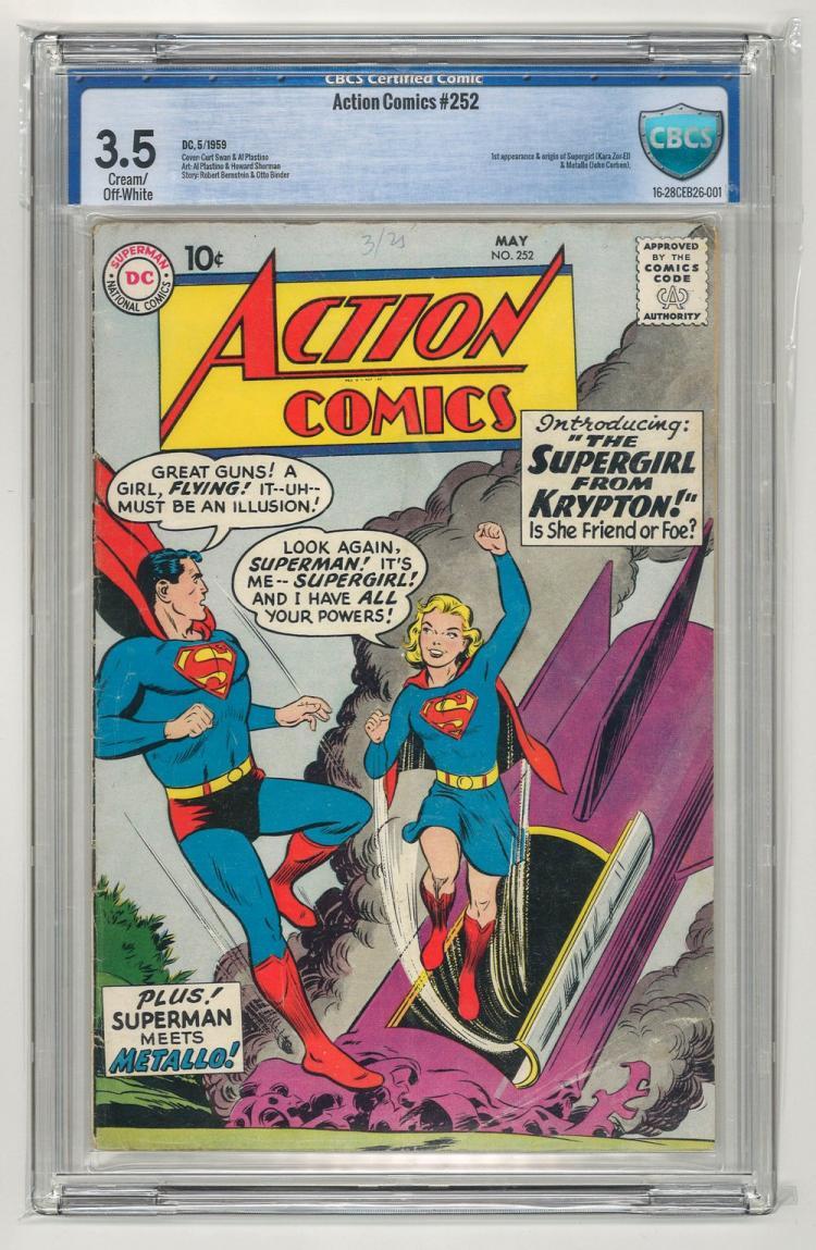 CBCS 3.5 Action Comics #252 1959