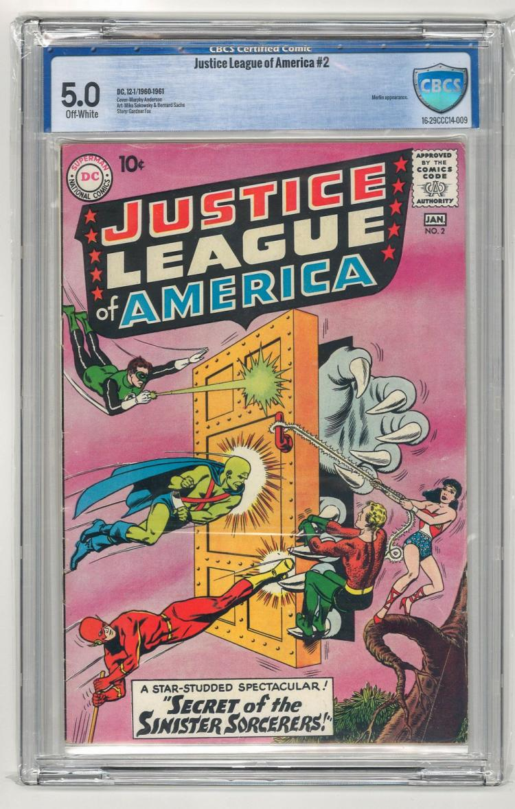 CBCS 5.0 Justice League of America #2 1960-1961