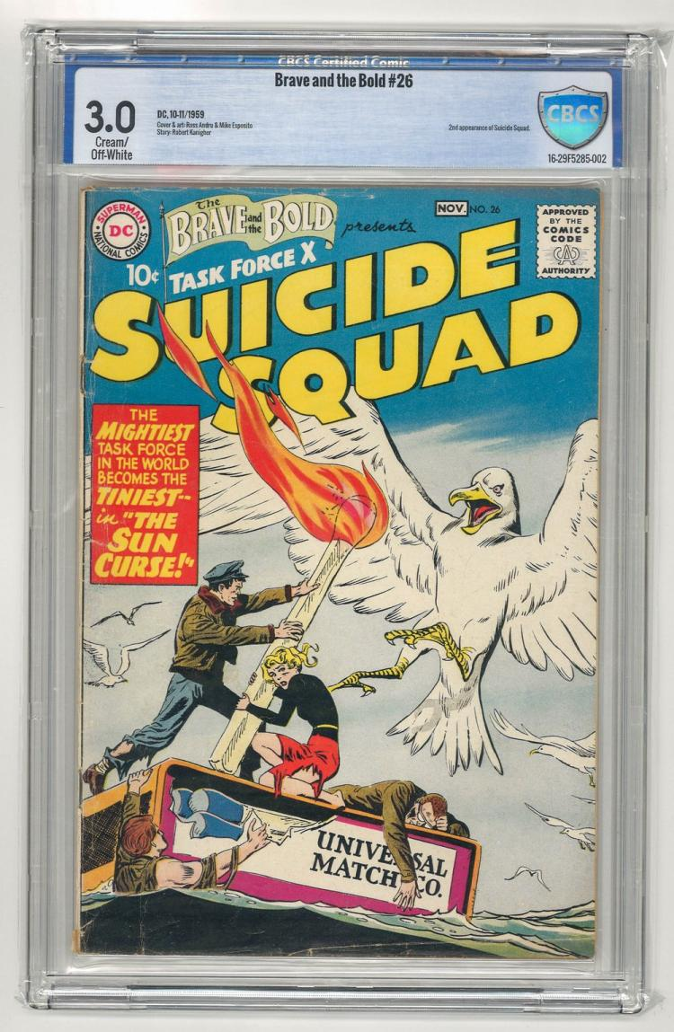 CBCS 3.0 Brave and the Bold #26 1959