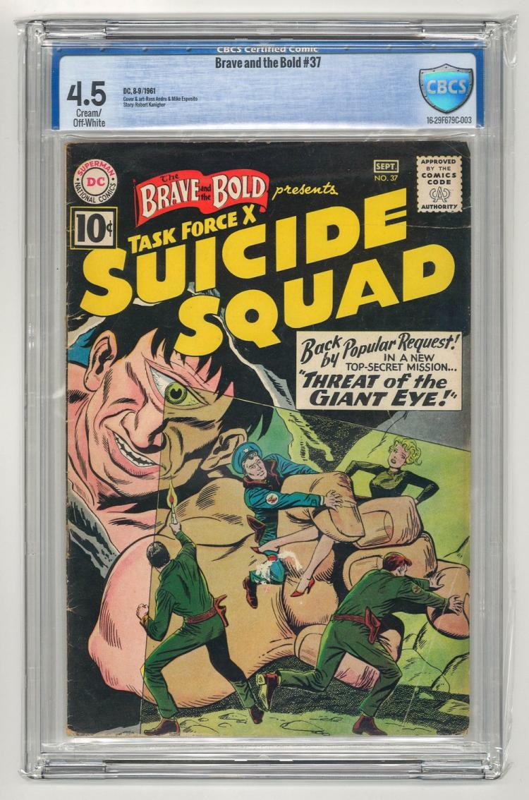 CBCS 4.5 Brave and the Bold #37 1961