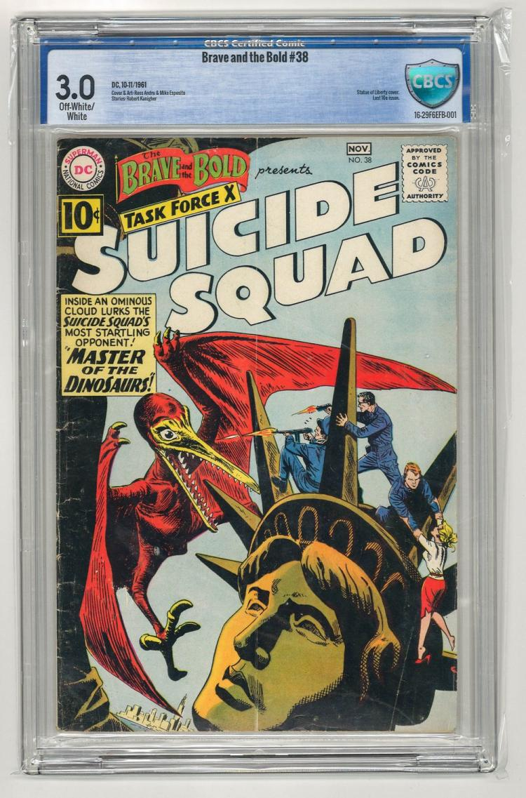 CBCS 3.0 Brave and the Bold #38 1961