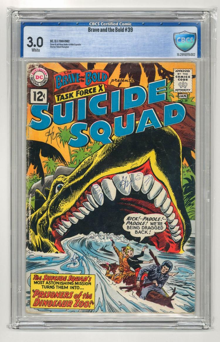 CBCS 3.0 Brave and the Bold #39 1961-1962