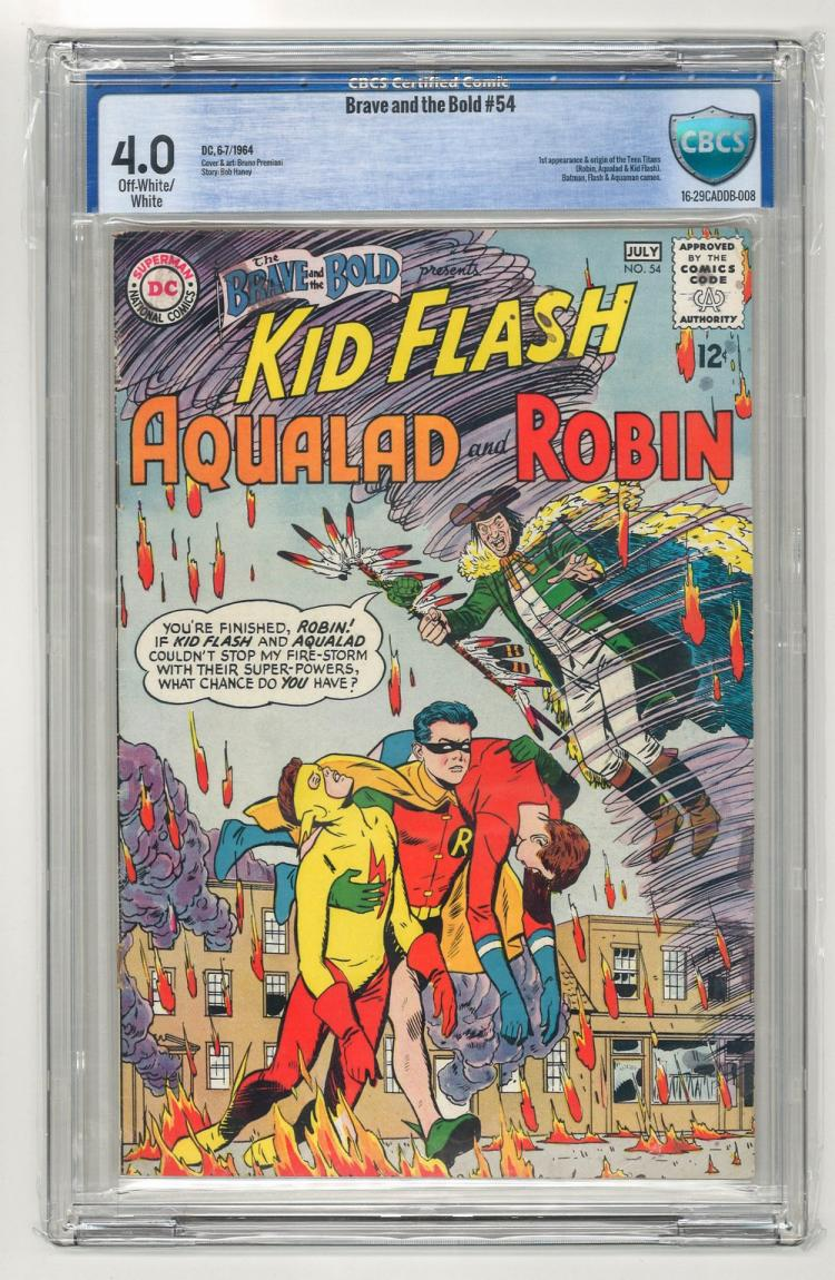 CBCS 4.0 Brave and the Bold #54 1964