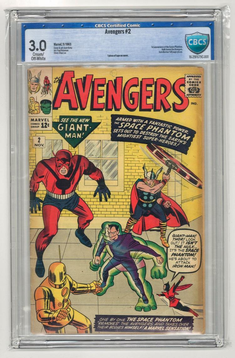 CBCS 3.0 Avengers #2 1963