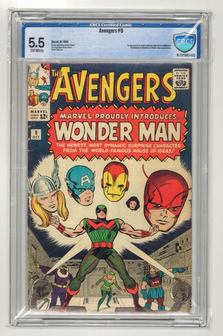 CBCS 5.5 Avengers #9 1964