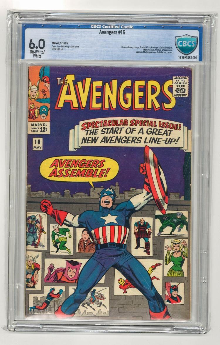 CBCS 6.0 Avengers #16 1965