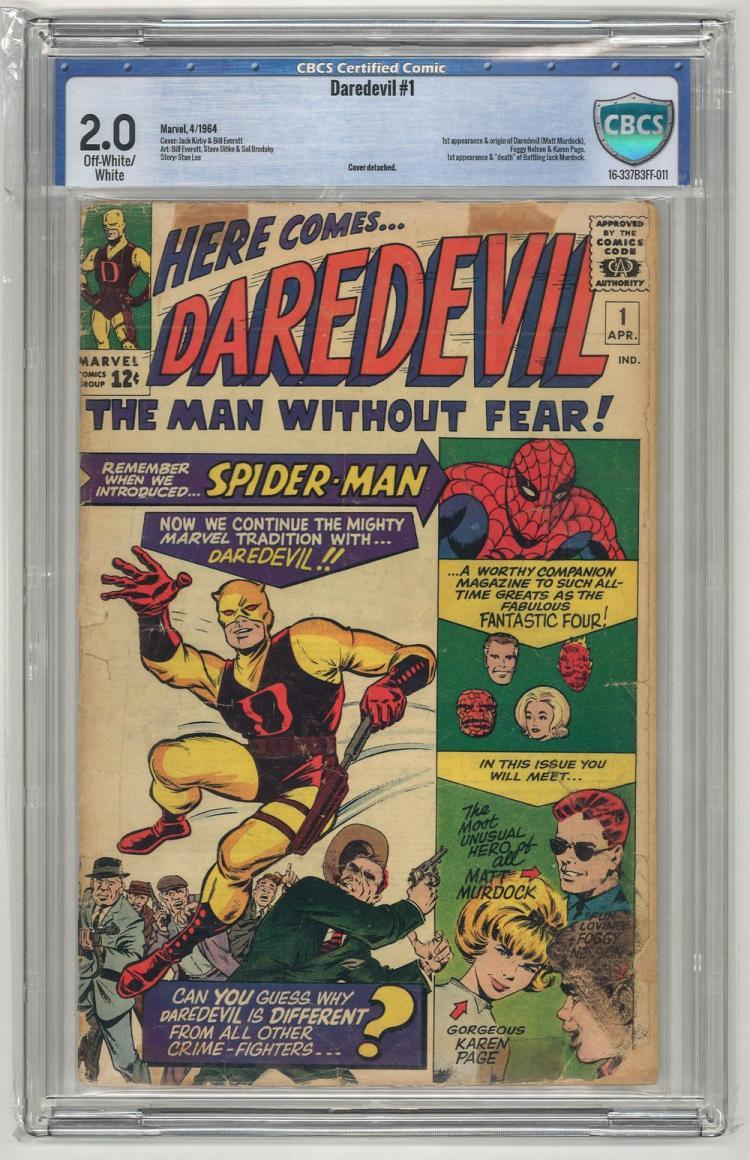 CBCS 2.0 Daredevil #1 1964