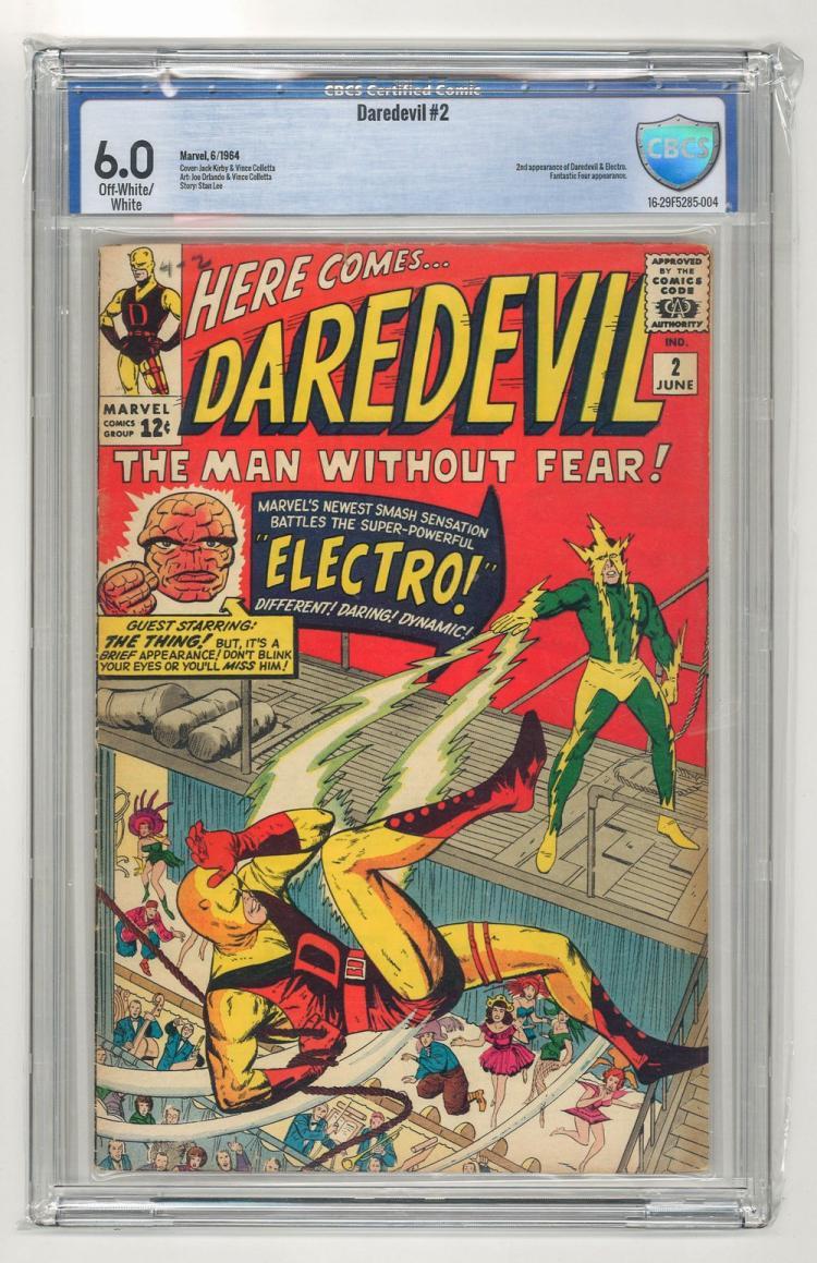 CBCS 6.0 Daredevil #2 1964