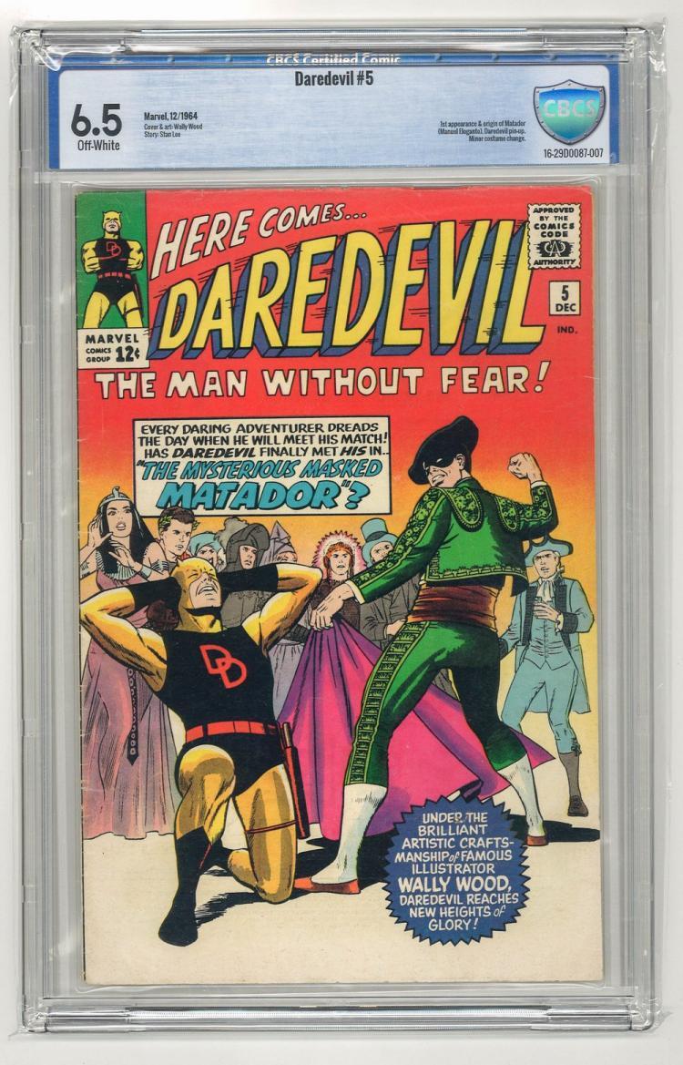 CBCS 6.5 Daredevil #5 1964