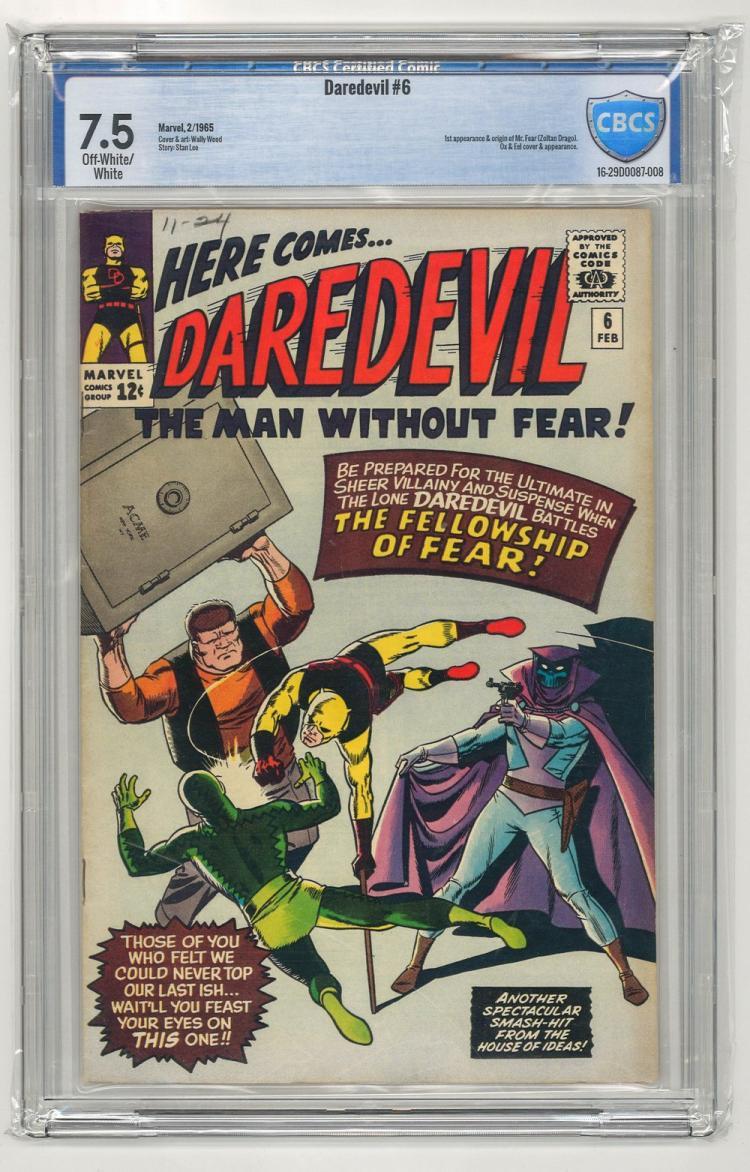 CBCS 7.5 Daredevil #6 1965