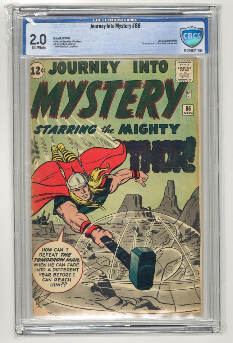CBCS 2.0 Journey Into Mystery #86 1962
