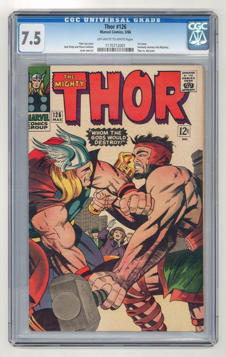 CGC 7.5 Thor #126 1966