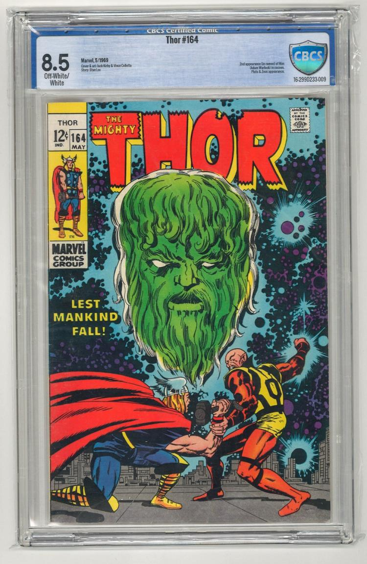CBCS 8.5 Thor #164 1969