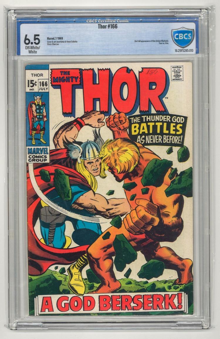 CBCS 6.5 Thor #166 1969