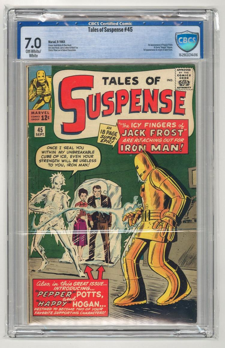 CBCS 7.0 Tales of Suspense #45 1963