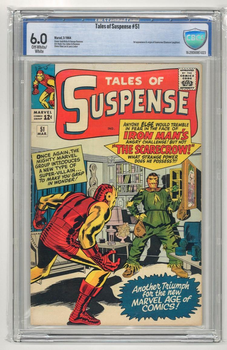 CBCS 6.0 Tales of Suspense #51 1964