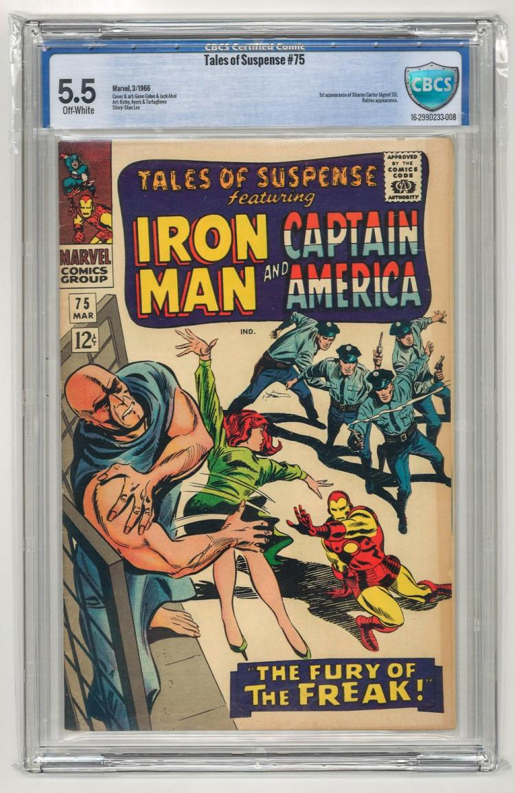 CBCS 5.5 Tales of Suspense #75 1966