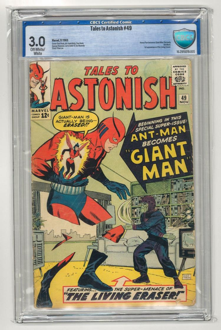 CBCS 3.0 Tales to Astonish #49 1963