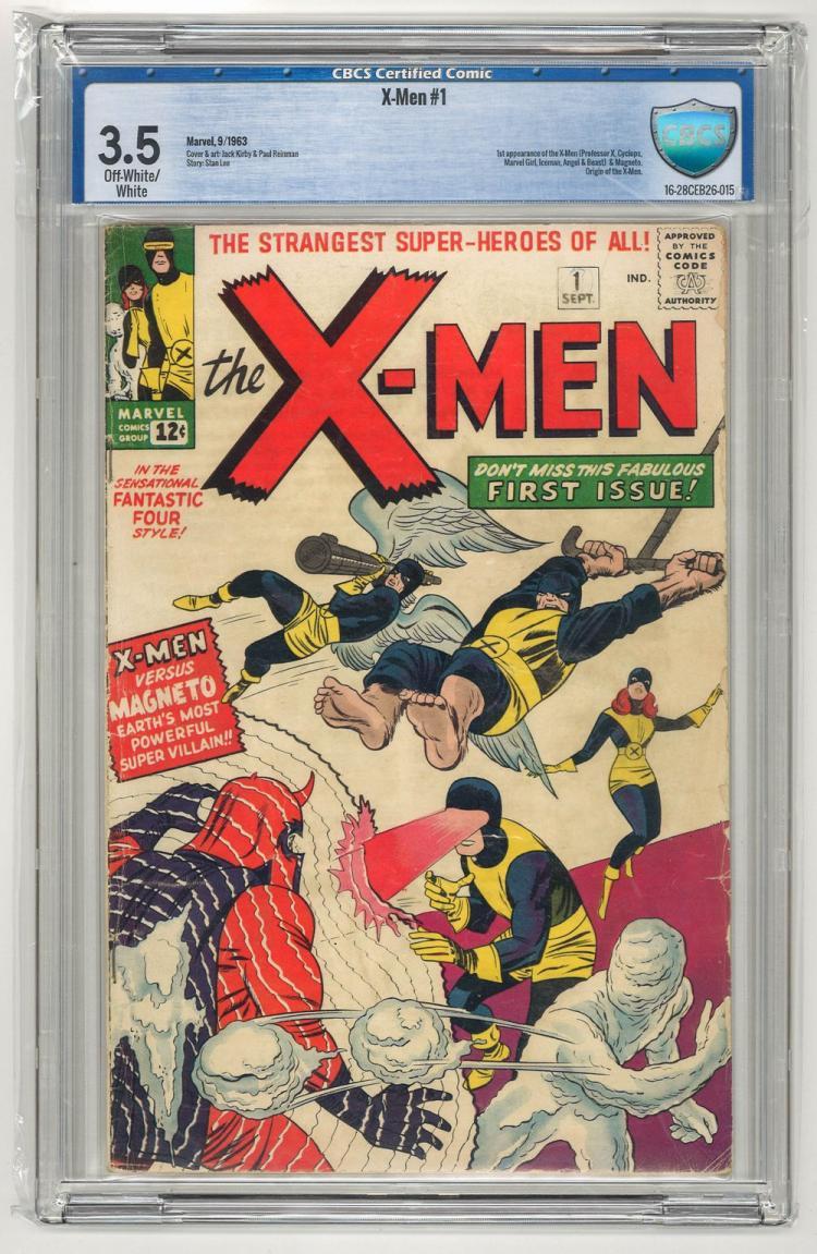 CBCS 3.5 X-Men #1 1963