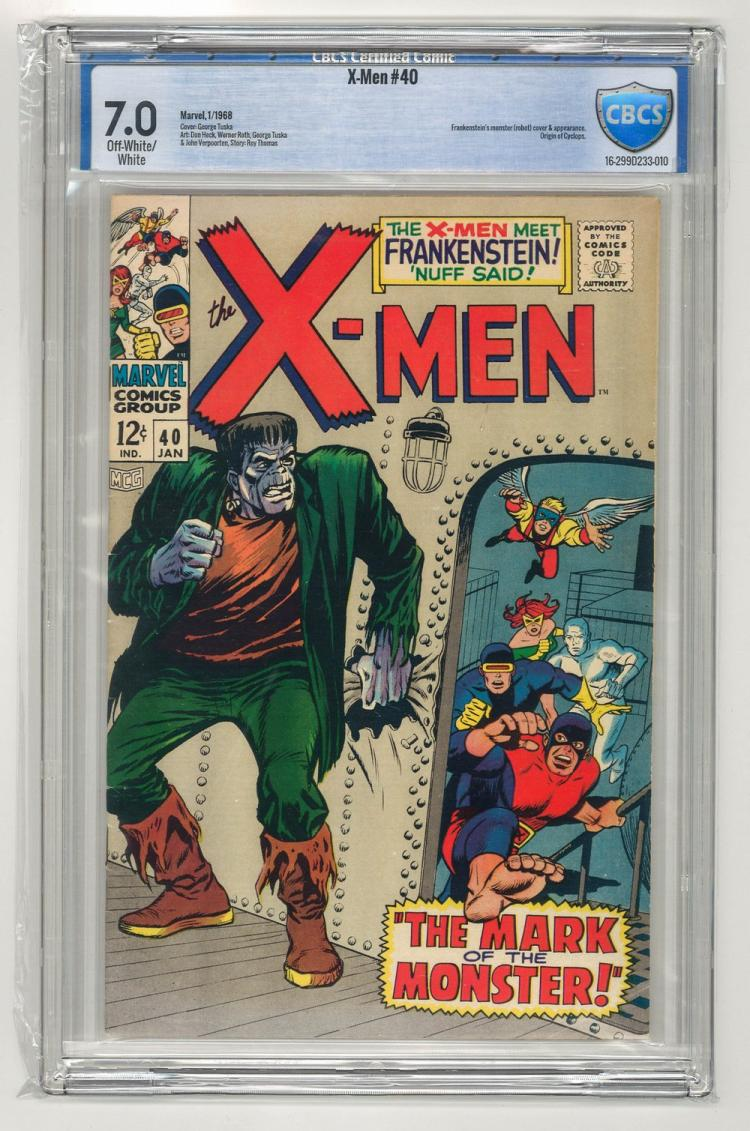 CBCS 7.0 X-Men #40 1968