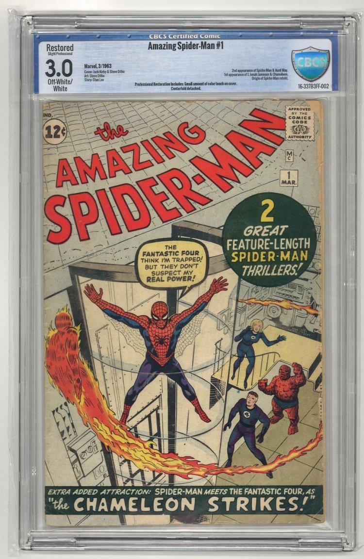 CBCS 3.0 Amazing Spider-Man #1 1963