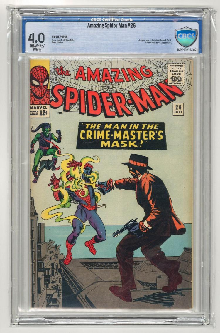 CBCS 4.0 Amazing Spider-Man #26 1965