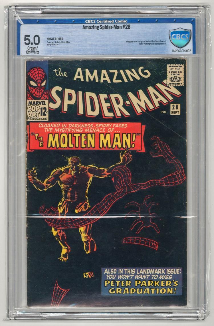 CBCS 5.0 Amazing Spider-Man #28 1965