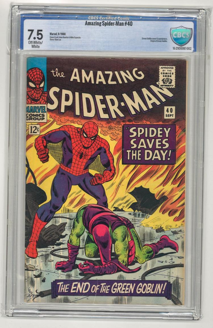 CBCS 7.5 Amazing Spider-Man #40 1966