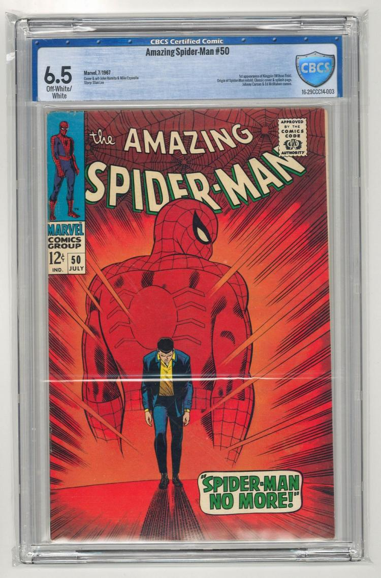 CBCS 6.5 Amazing Spider-Man #50 1967