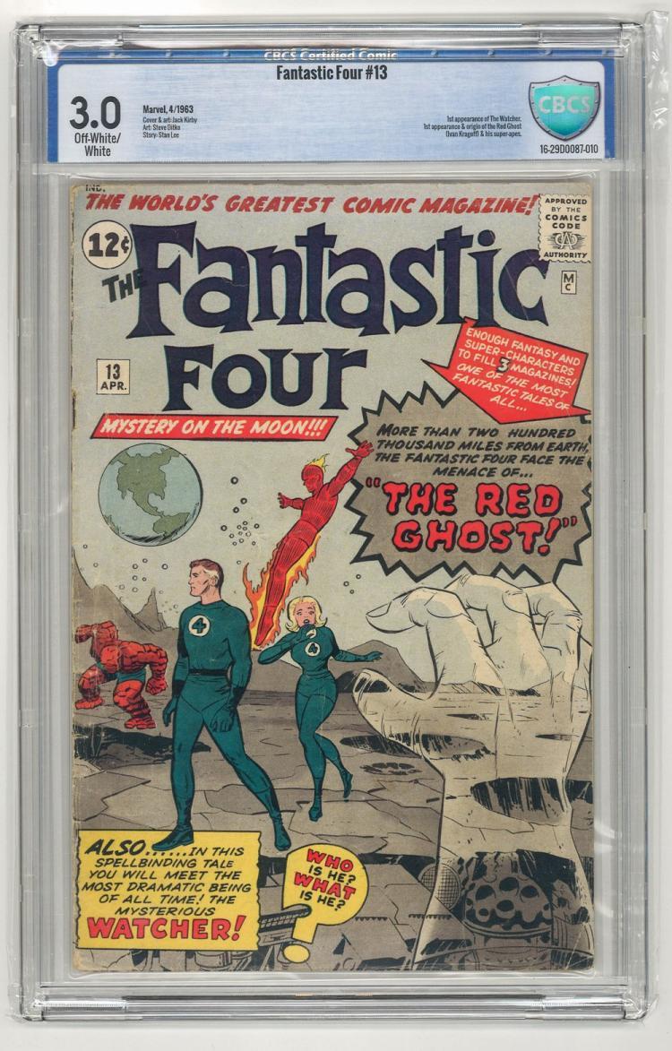 CBCS 3.0 Fantastic Four #13 1963