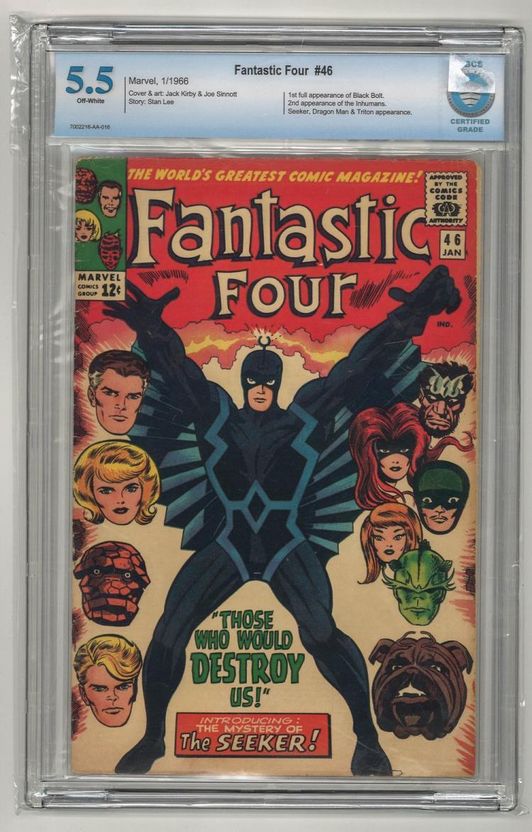 CBCS 5.5 Fantastic Four #46 1966