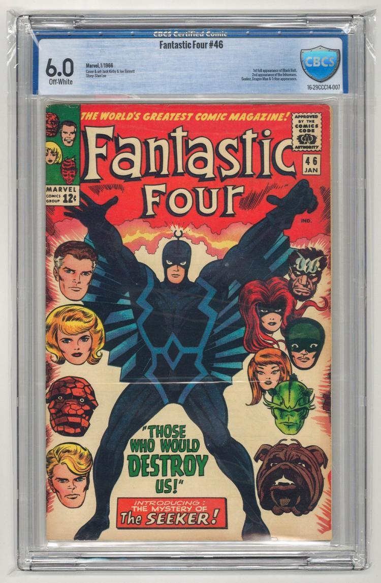 CBCS 6.0 Fantastic Four #46 1966