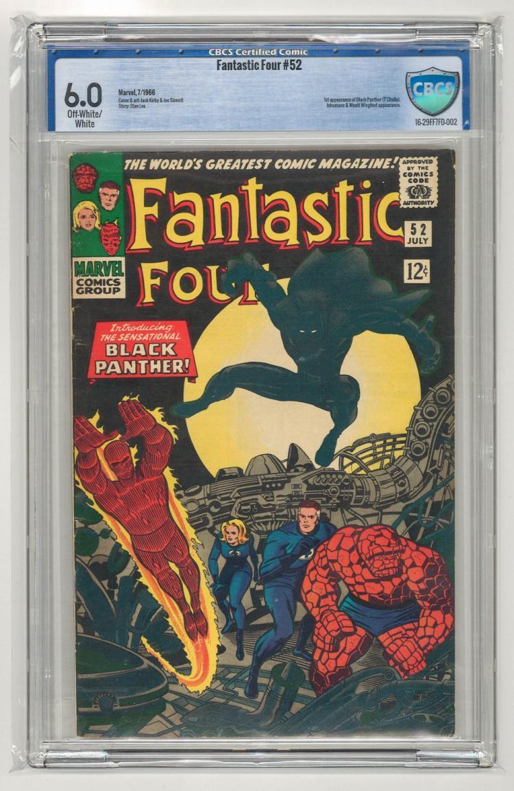 CBCS 6.0 Fantastic Four #52 1966