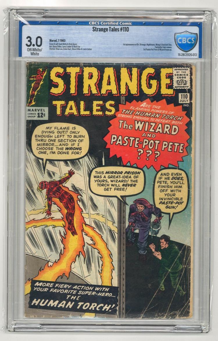 CBCS 3.0 Strange Tales #110 1963