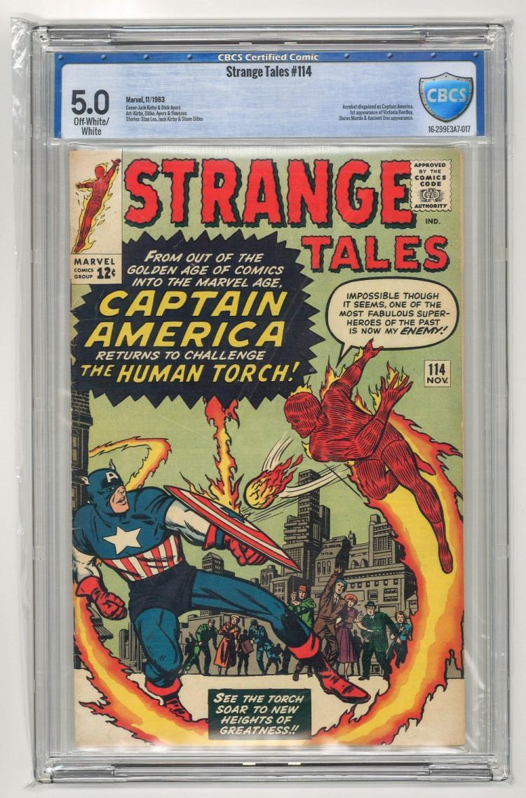 CBCS 5.0 Strange Tales #114 1963