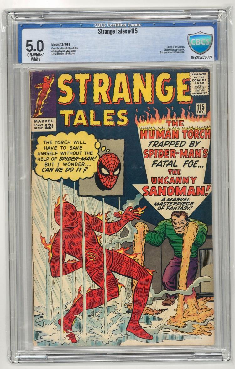 CBCS 5.0 Strange Tales #115 1963