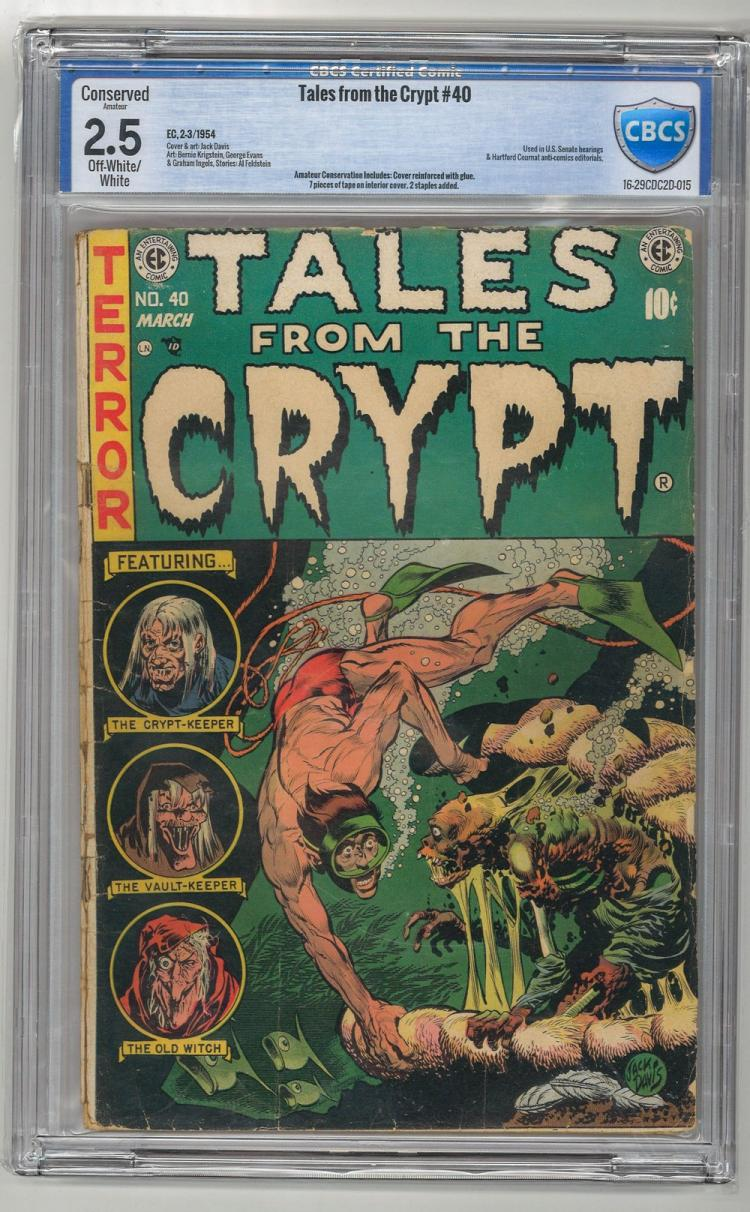 CBCS 2.5 Tales from the Crypt #40 1954