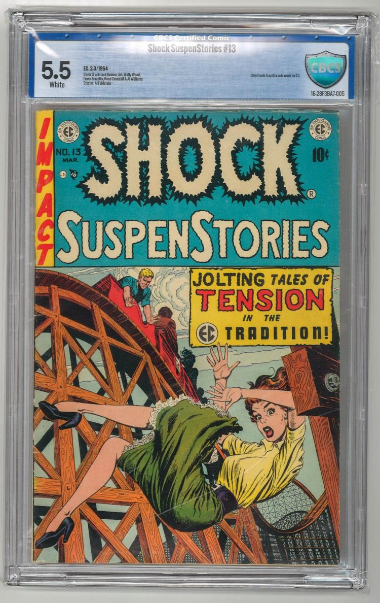 CBCS 5.5 Shock SuspenStories #13 1954