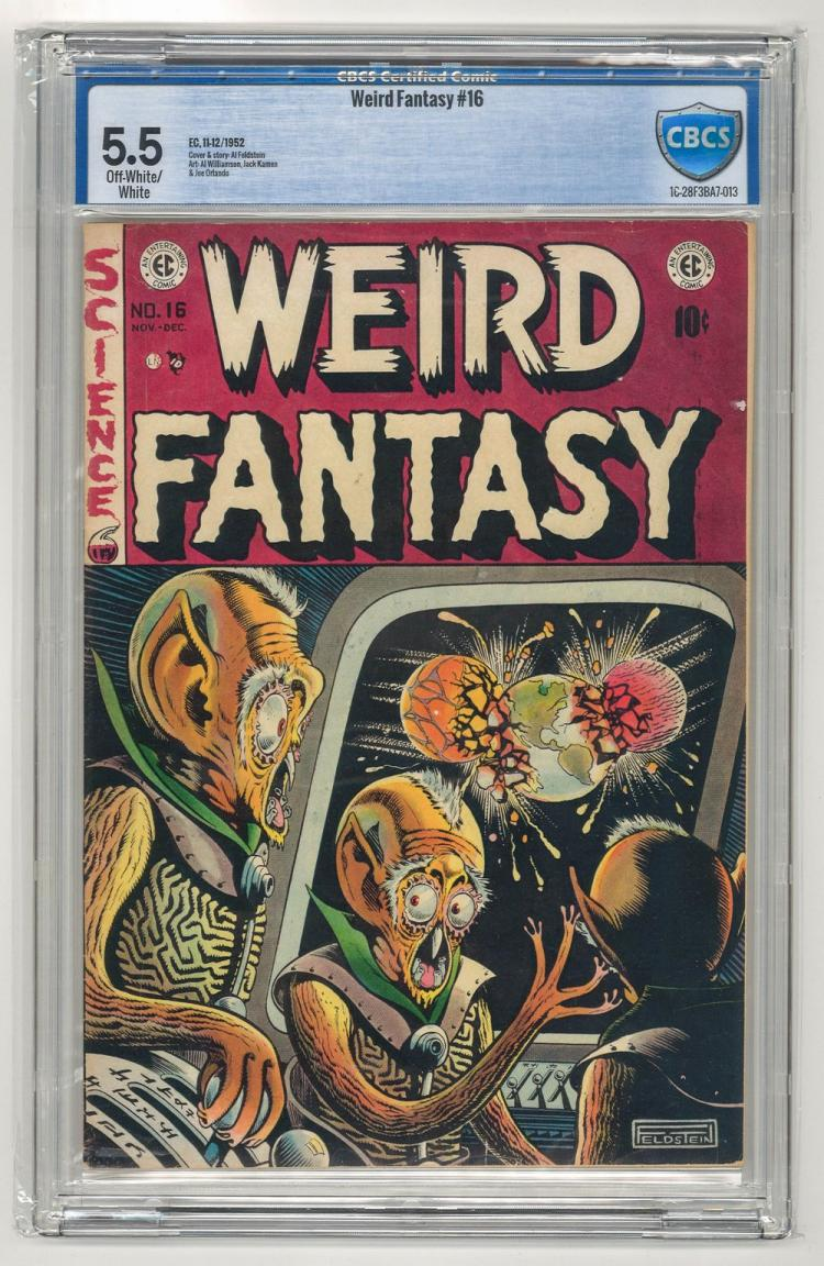 CBCS 5.5 Weird Fantasy #16 1952