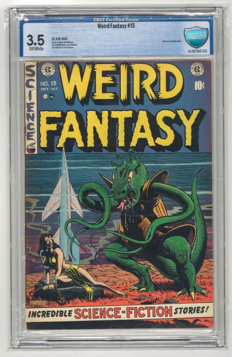 CBCS 3.5 Weird Fantasy #15 1952