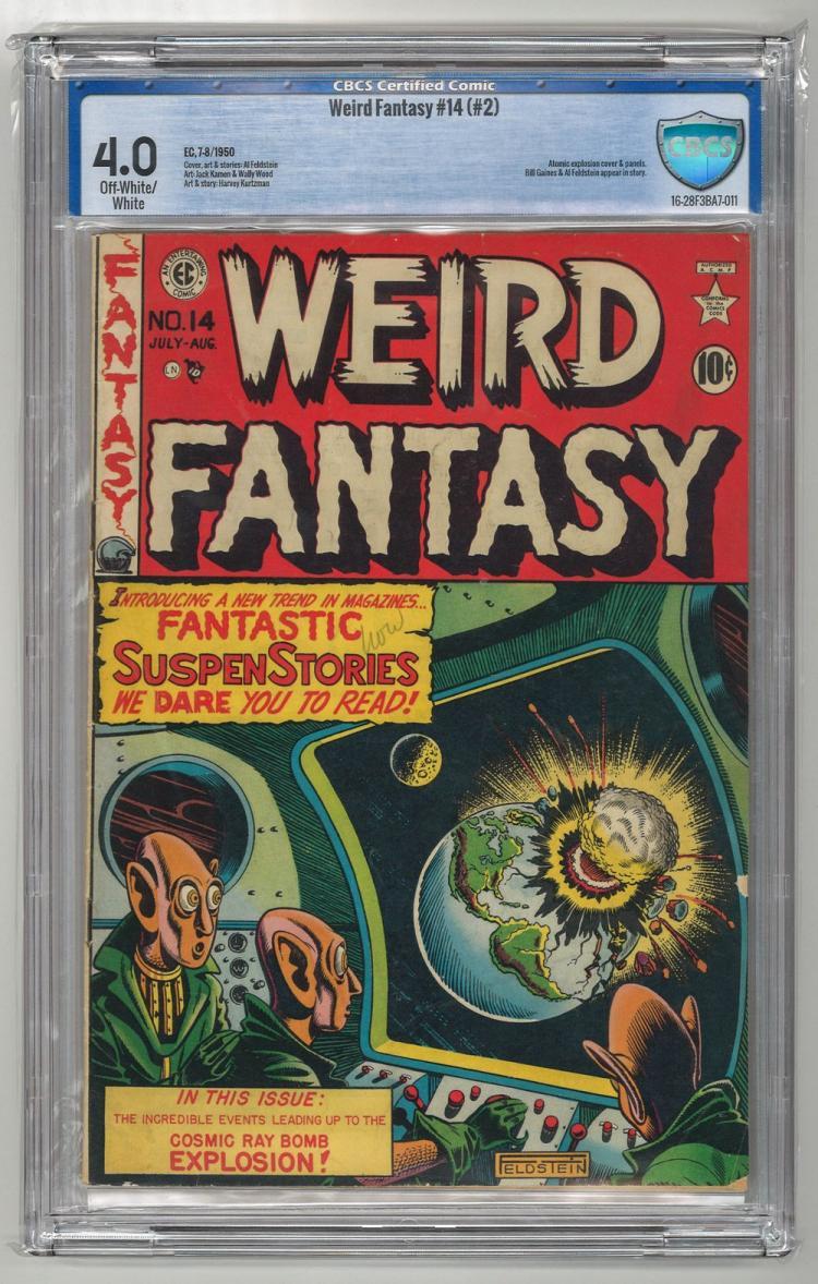 CBCS 4.0 Weird Fantasy #14 (#2) 1950