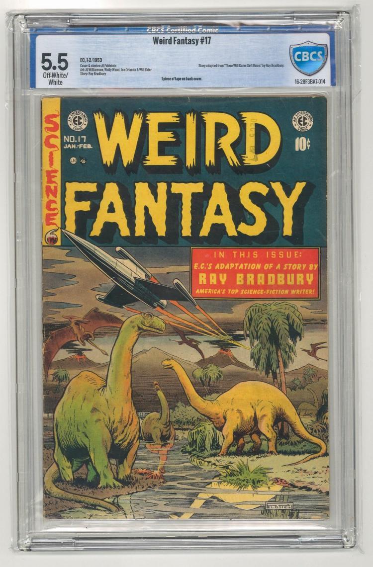 CBCS 5.5 Weird Fantasy #17 1953