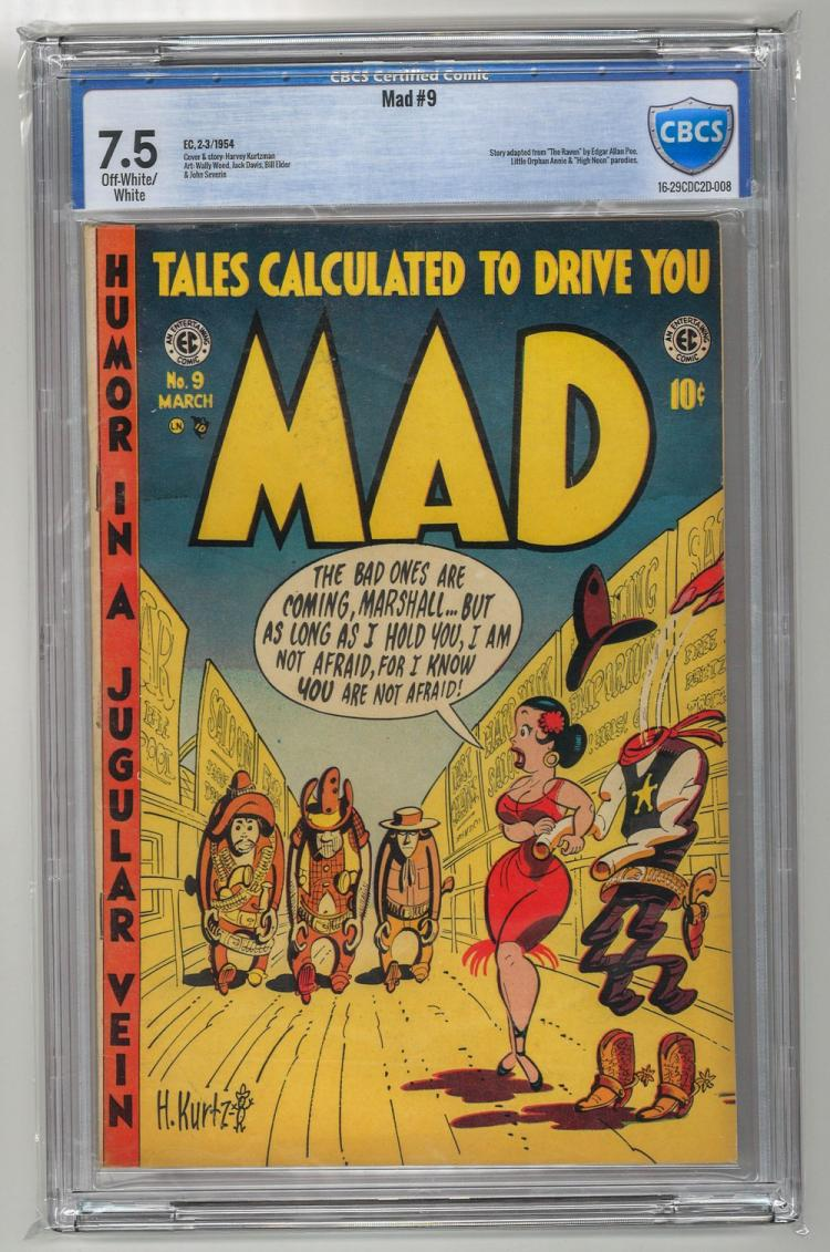 CBCS 7.5 Mad #9 1954