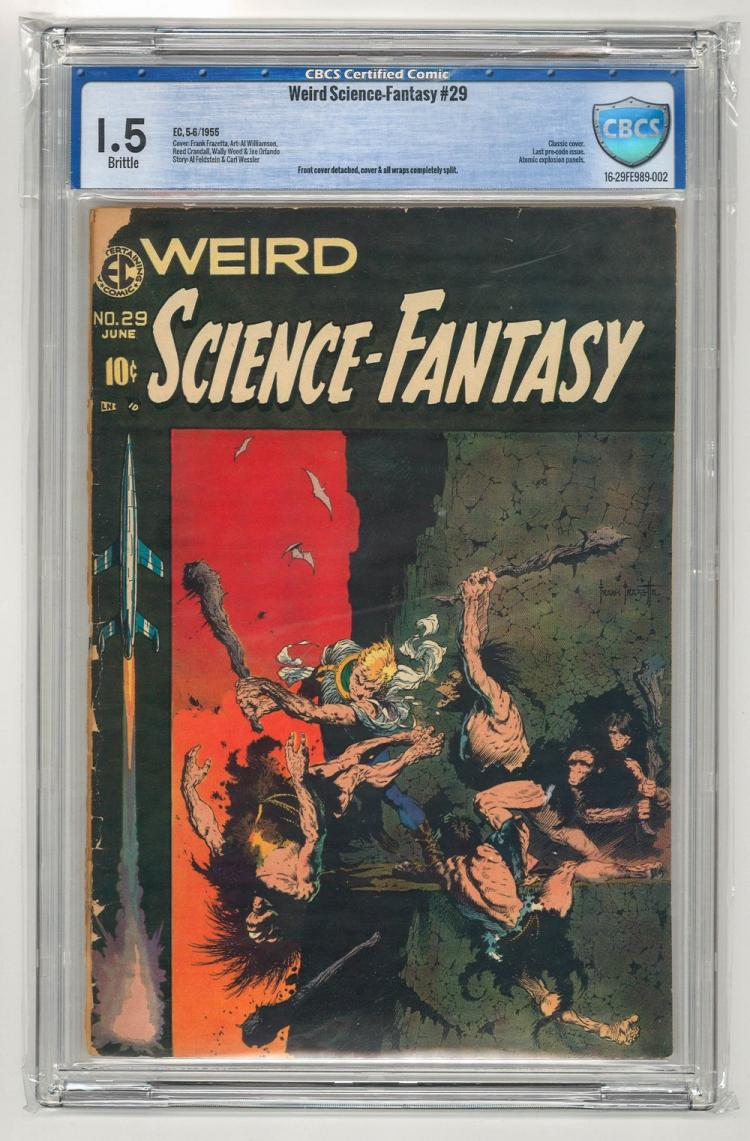 CBCS 1.5 Weird Science-Fantasy #29 1955