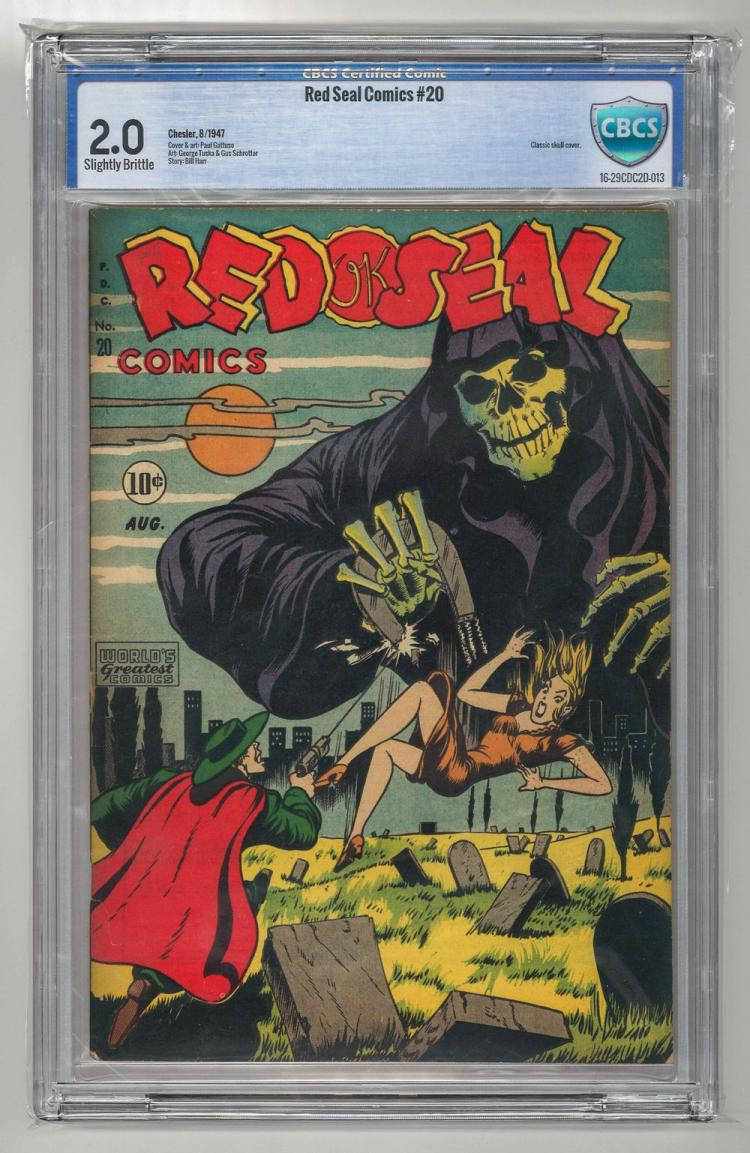 CBCS 2.0 Red Seal Comics #20 1947