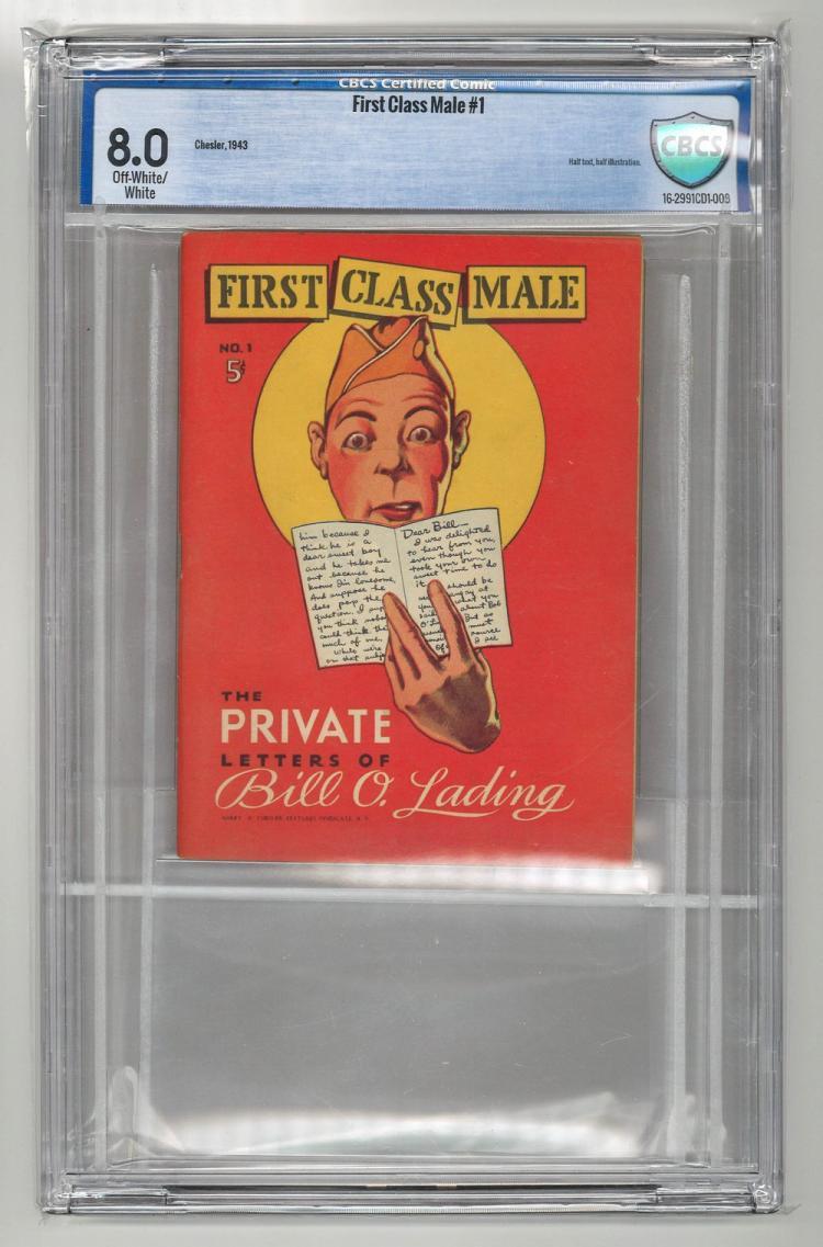 CBCS 8.0 First Class Male #1 1943