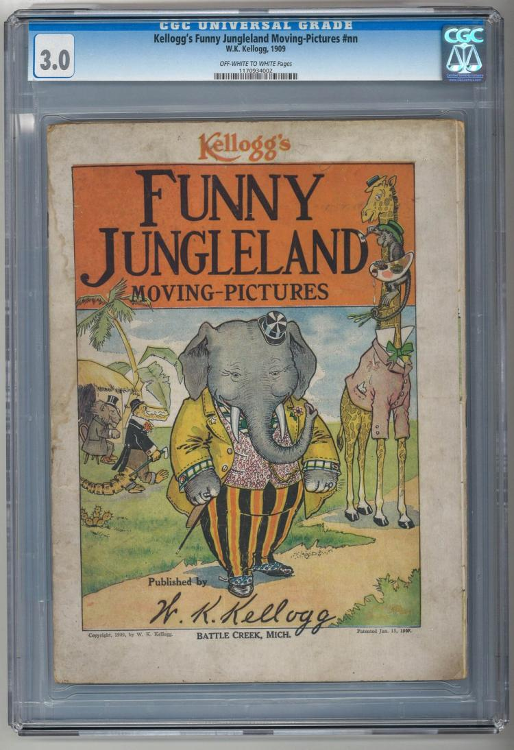 CGC 3.0 Kellogg's Funny Jungleland Moving-Pictures