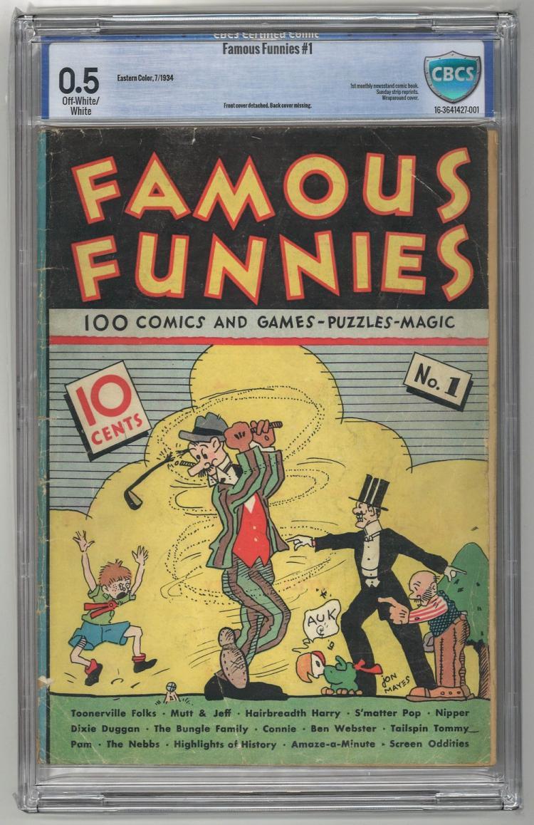 CBCS 0.5 Famous Funnies #1 1934