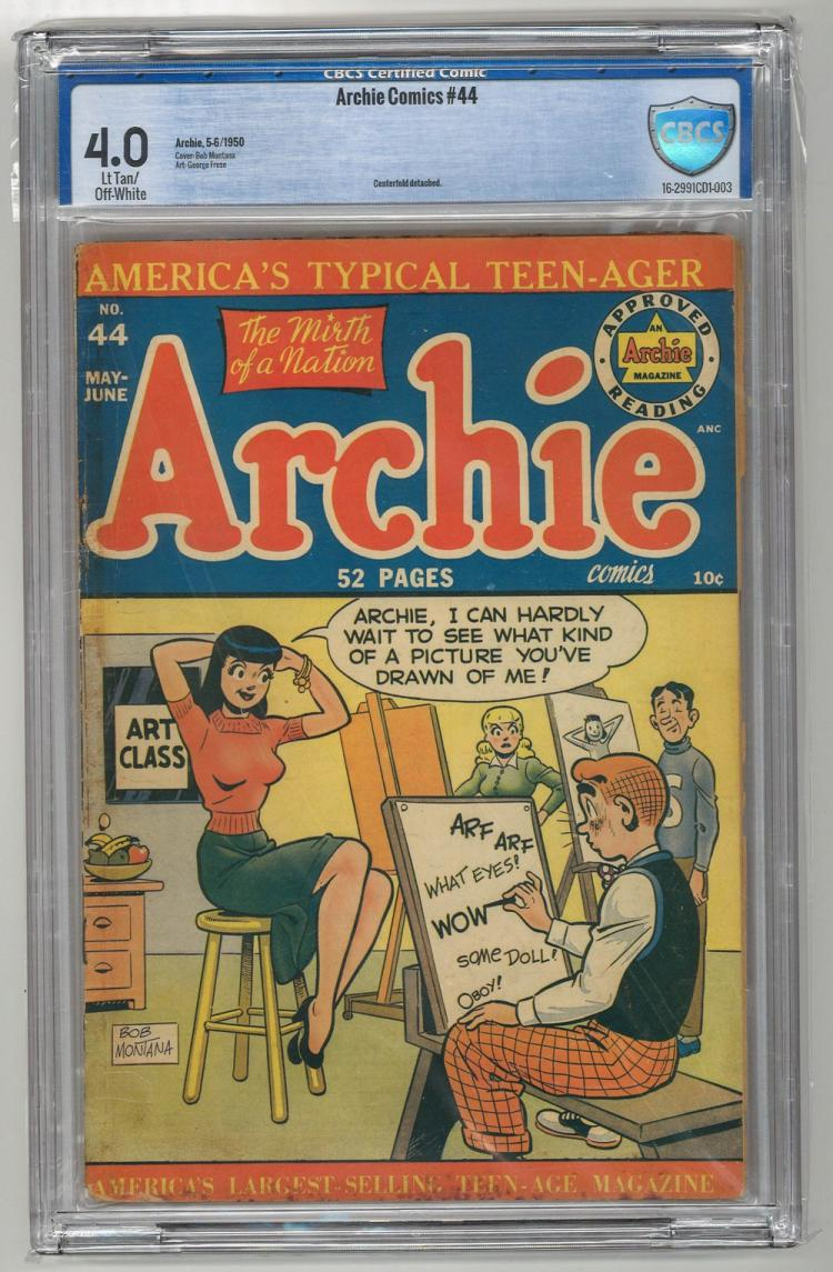 CBCS 4.0 Archie Comics #44 1950