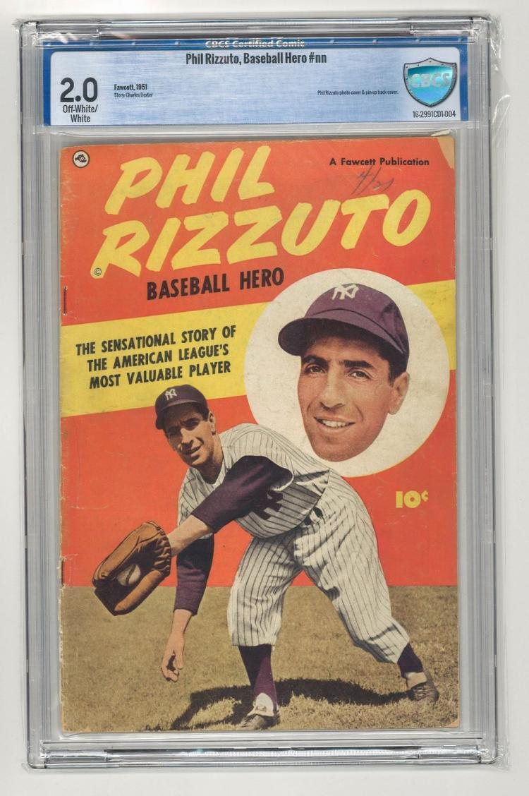 CBCS 2.0 Phil Rizzuto, Baseball Hero #nn 1951